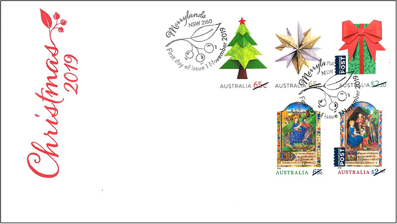 Datestamped First Day Cover with Stamp Set (AU475)